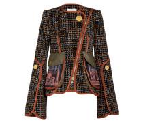 Bestickte Jacke Aus Tweed -