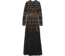 Robe aus Guipure-Spitze