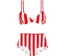 The Brigitte Gestreifter Bikini -