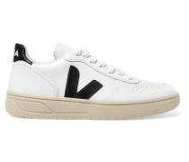 V-10 Sneakers aus Leder