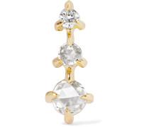 Snow Queen Ohrring Aus 14 Karat  Mit Diamanten