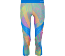 Pro Hypercool Frequency bedruckte Leggings aus Stretch-Jersey