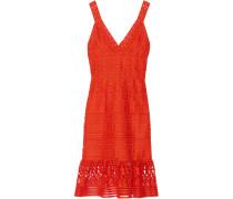 Tiana Kleid Aus Guipure-spitze - Knallorange