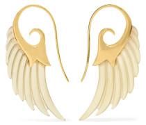 Wing Ohrringe Aus 18 Karat  Mit Horn