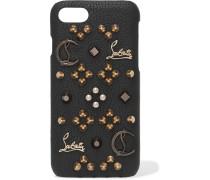 Loubiphone Iphone 7-hülle Aus Strukturiertem Leder Mit Verzierungen -