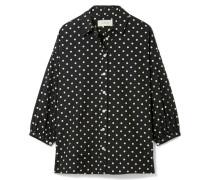 The Easy Button Up Hemd Aus Baumwollpopeline Mit Polka-dots -