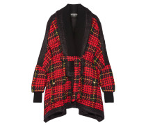 Oversized-jacke Aus Kariertem Tweed -