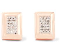 Baja Deco Ohrringe Aus -vermeil Mit Diamanten