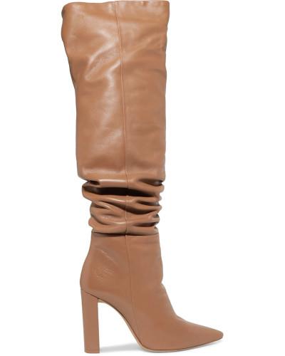 Anna Kniehohe Stiefel aus Leder