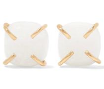Ohrringe Aus 14 karat  Mit Natürlichen Kristallen
