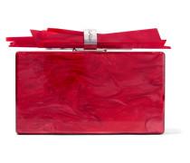 Wolf Box-clutch Aus Acryl In Marmoroptik -