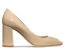 Pumps aus Lackleder -