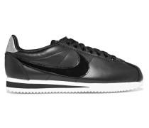 Classic Cortez Sneakers Aus Leder Mit Lacklederdetail -