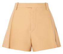 Shorts aus einer Wollmischung -