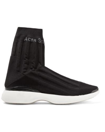 Acne Damen Batilda Sneakers aus Stretch-strick Spielraum Footlocker Billig Verkauf Geniue Händler 2ee7Gau4M