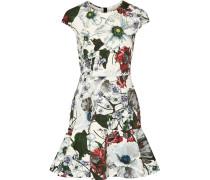 Darlina Minikleid Aus Neopren Mit Blumenprint -