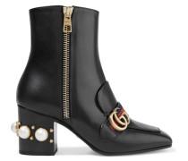 Marmont Verzierte Ankle Boots Aus Leder -