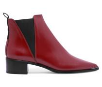 Jensen Ankle Boots Aus Leder - Ziegelrot
