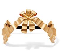 Vergoldetes Haarband Mit Kunstperlen -