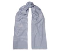 Schal aus einer Kaschmirmischung mit Metallic-effekt -