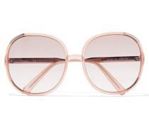 Myrte Sonnenbrille Aus Azetat Mit Eckigem Rahmen -