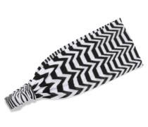 Mare Haarband Aus Strick In Häkeloptik -
