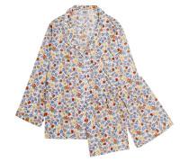 Marina And Paloma Pyjama Aus Baumwolle Mit Blumendruck -