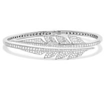 Magnipheasant Armband Aus 18 Karat Weißgold Mit Diamanten