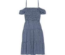 Cabarita Bedrucktes Kleid Aus Voile - Blau