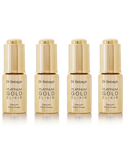 Platinum Gold Elixir, 4 X 10 Ml – Set aus Seren