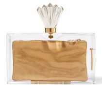 Decorative Pandora Clutch Aus Perspex® - Transparent