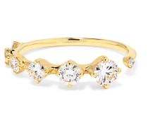 Sequence Ring Aus 18 Karat  Mit Diamanten