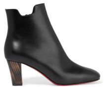 Tiagada 70 Ankle Boots Aus Leder - Schwarz
