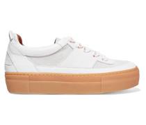 Corinne Sneakers Aus Velours- Und Glattleder -
