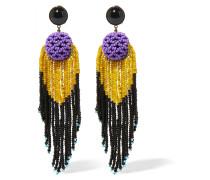 Ohrringe Mit Perlen - Lila