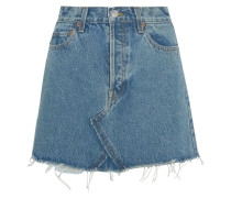 Originals Minirock aus Denim in Distressed-optik