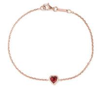 Heart Armband aus 18 Karat  mit Rubin