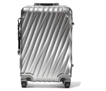 International Carry-on Koffer Aus Aluminium - Silber