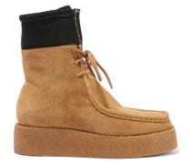 Selma Desert Boots Aus Veloursleder - Camel