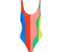 Gestreifter Badeanzug -