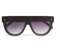 Evie Sonnenbrille Mit D-rahmen Aus Azetat In optik