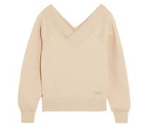 Schulterfreies Sweatshirt Aus Einer Baumwollmischung Mit Stretch-anteil -