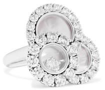 Happy Diamonds Aus 18 Karat , Mit Diamanten Und Perlmutt
