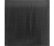 Bedrucktes Tuch aus Seiden-Charmeuse 140 cm x 140 cm
