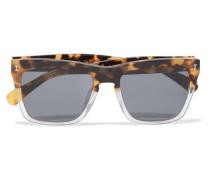 Los Feliz Sonnenbrille Mit Eckigem Rahmen Aus Azetat -