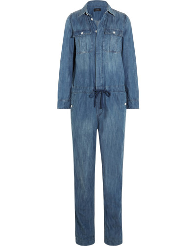 j crew damen edding jumpsuit aus chambray reduziert. Black Bedroom Furniture Sets. Home Design Ideas