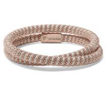 Twister Armband Mit 18 Karat auflage Und Seide