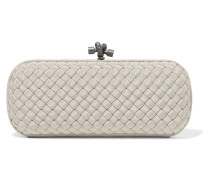The Knot Clutch Aus Intrecciato-ripsband -