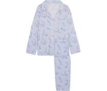 Pyjama aus Jersey mit Blumenprint -