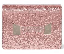 Compton Clutch Aus Perspex Mit Glitter-finish -